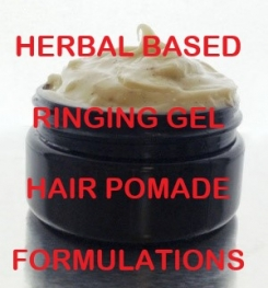 Herbal Based Ringing Gel Hair Pomade Formulation And Production