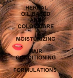 Herbal Oil Based And Color Care Moisturizing Hair Conditioning Foam Cream Formulation And Production