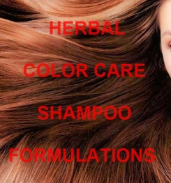 Herbal Color Care Shampoo Formulation And Production