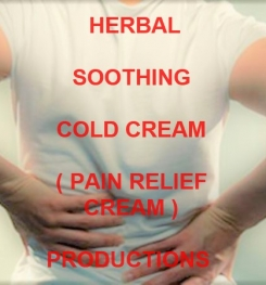 Herbal Soothing Cold Cream ( Pain Relief Cream ) Formulation And Production