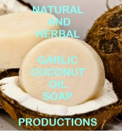 Natural And Herbal Garlic And Coconut Oil Soap Formulation And Production