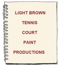 Light Brown Tennis Court Paint Formulation And Production
