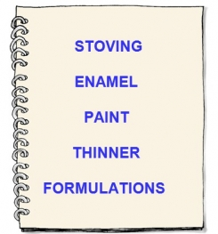 Stoving Enamel Paint Thinner Formulation And Production   E