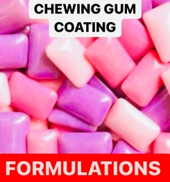 Chewing Gum Coating Formulation And Production