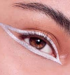 White Color Permanent And Gloss Eyeliner Formulation And Production