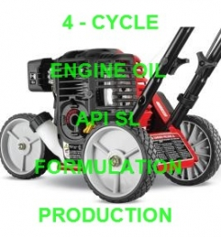 4 - CYCLE ENGINE OIL API SL FORMULATION AND PRODUCTION PROCESS