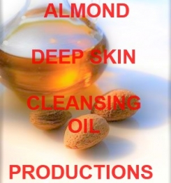 Almond Deep Skin Cleansing Oil Formulation And Production