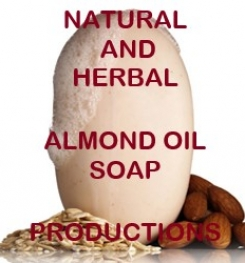 Natural And Herbal Almond Oil Soap Formulation And Production