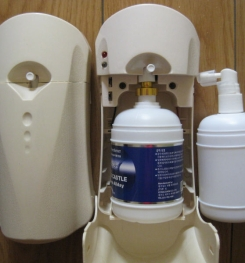 Air Freshener Liquid For Automatic Aerosol Dispenser Formulation And Production