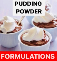 Pudding Powder Formulation And Production