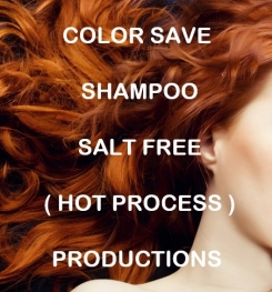 Color Save Shampoo Salt Free ( Hot Process ) Formulation And Production