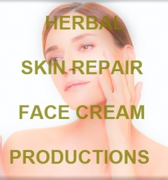 Herbal Skin Repair Face Cream Formulation And Production