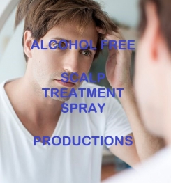 Alcohol Free Scalp Treatment Spray Formulation And Production
