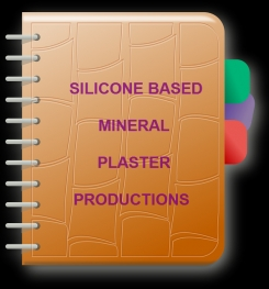 Silicone Based Mineral Plaster Formulation And Production