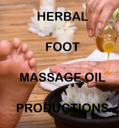 Herbal Foot Massage Oil Formulation And Production