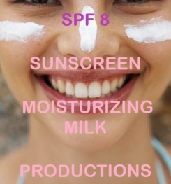 SPF 8 Sunscreen Moisturizing Milk Formulation And Production