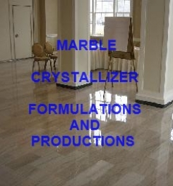 MARBLE CRYSTALLIZER FORMULATION AND PRODUCTION PROCESS