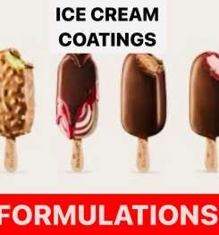 Ice Cream Coatings Formulation And Production