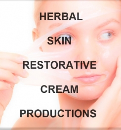 Herbal Skin Restorative Cream Formulation And Production