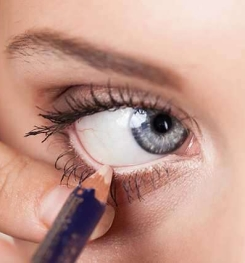 White Color And Simply Eyeliner Formulation And Production