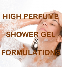 High Perfume Shower Gel Formulation And Production