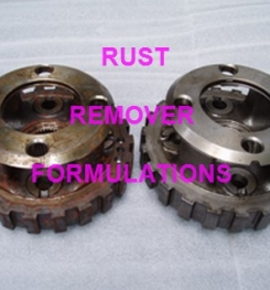 RUST REMOVER FORMULATIONS AND MANUFACTURING PROCESS