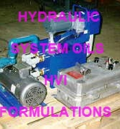 HYDRAULIC SYSTEM OIL HVI FORMULATION AND MANUFACTURING PROCESS