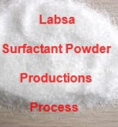 LABSA SURFACTANT GRANULAR PRODUCTION PROCESS