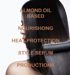 Almond Oil Based Nourishing Heat Protection Style Serum Formulation And Production