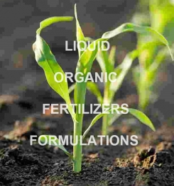 ORGANIC LIQUID FERTILIZERS FORMULATIONS AND PROCESS