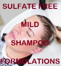 Sulfate Free Mild Shampoo Formulation And Production