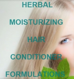 Herbal Moisturizing Hair Conditioner Formulation And Production