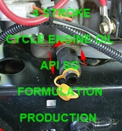 4 - CYCLE ENGINE OIL API SG FORMULATION AND PRODUCTION PROCESS