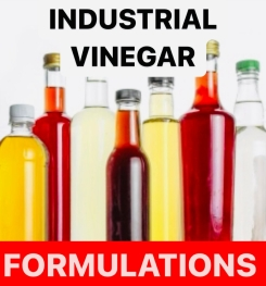 Industrial Vinegar Formulation And Production