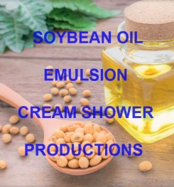 Soybean Oil Emulsion Cream Shower Formulation And Production