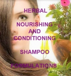 Herbal Nourishing And Conditioning Shampoo Formulation And Production