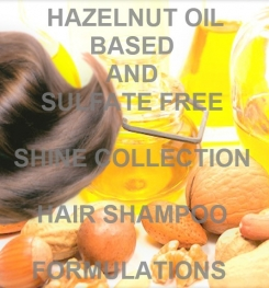 Hazelnut Oil Based And Sulfate Free Shine Collection Hair Shampoo Formulation And Production
