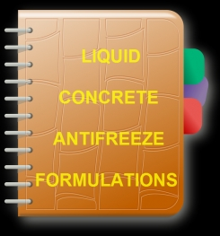 Liquid Concrete Antifreeze Formulation And Production