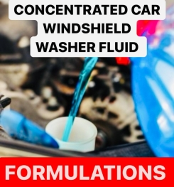 Concentrated Car Windshield Washer Fluid Formulation And Production Process