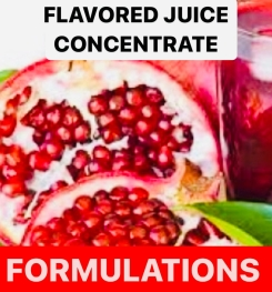 Flavored Juice Concentrate Formulation And Production