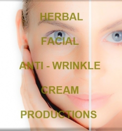 Herbal Facial Anti - Wrinkle Cream Formulation And Production