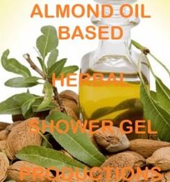 Almond Oil Based Herbal Shower Gel Formulation And Production