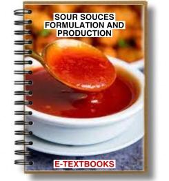 Sour Sauces Formulation And Production