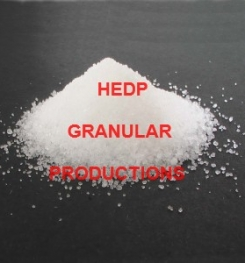 HEDP GRANULAR PRODUCTION PROCESS