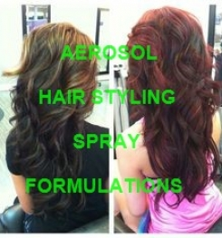 Aerosol Hair Styling Spray Formulations And Production Process