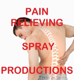 Pain Relieving Spray Formulation And Production