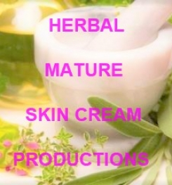 Herbal Mature Skin Cream Formulation And Production