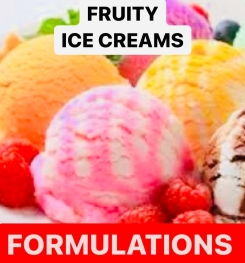 Fruity Ice Creams Formulation And Production