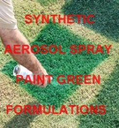 Synthetic Aerosol Spray Paint Green Formulation And Production Process
