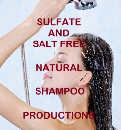 Sulfate And Salt Free Natural Shampoo Formulation And Production